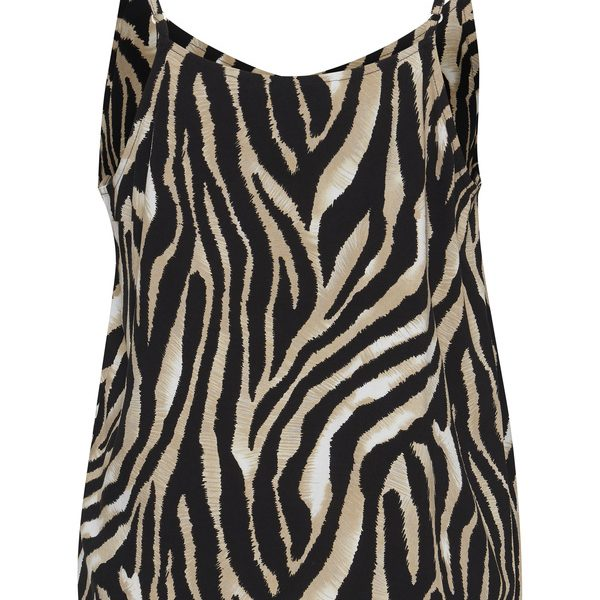 Viskose-Top im Animal-Print von b.young