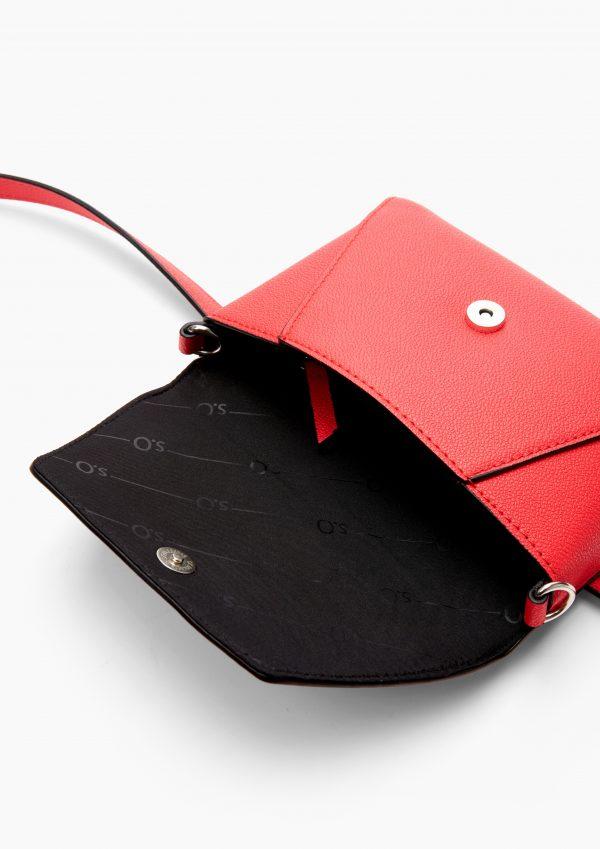 Umhängetasche in Lederoptik in Rot von s.Oliver