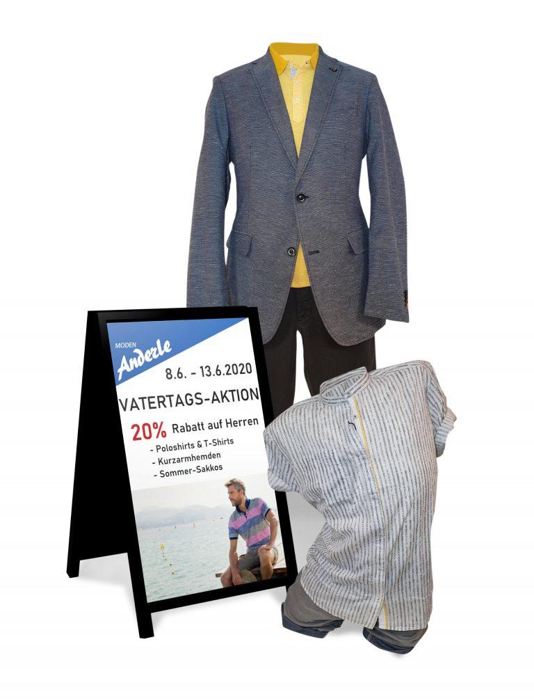 Outfitbild zum Thema Vatertags-Aktion
