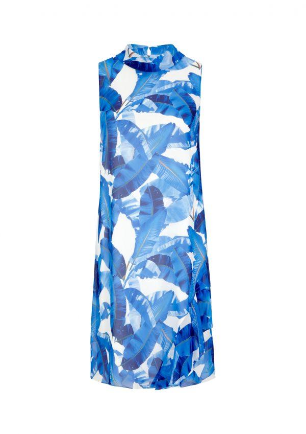 Chiffon-Kleid von comma
