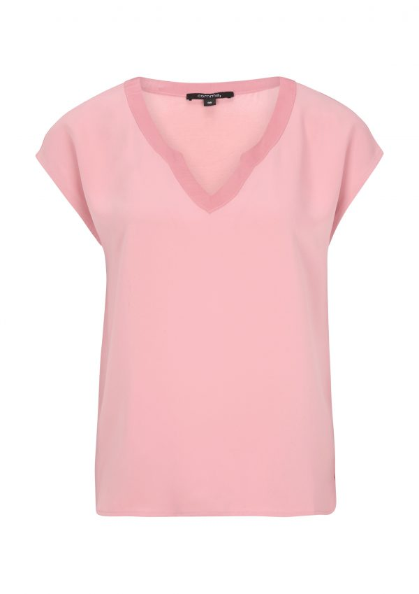 Blusenshirt in rosa von comma
